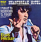 SP 4027 HEARTBREAK HOTEL / I FORGOT TO REMEMBER TO FORGET