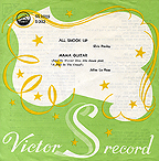 SS 1019 ALL SHOOK UP / MAMA GUITAR